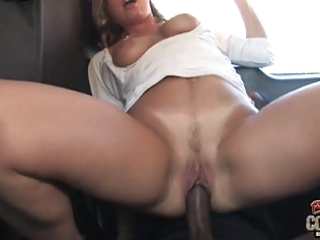 white mama joey lynn used by not her black son on