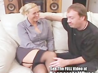 teacher joey-lynn receives a floozy training
