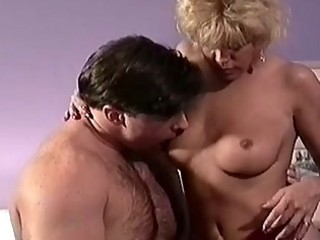 Blonde mom enjoying sex with you