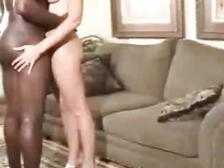 a sexy aged wife receives a creampie from her