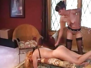 older lesbo servitude and spanking