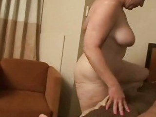 horny granny rides a rod unfathomable in her