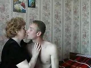 hawt blond mature lady shags with slutty youthful