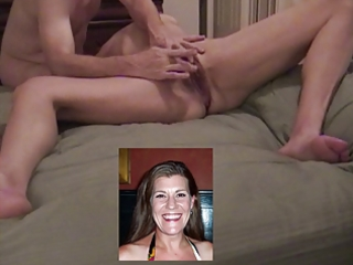 mature wife having her clitoris rubbed