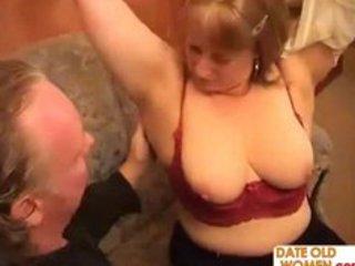 bulky grandmother goes wild
