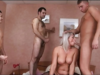 russian mature bang