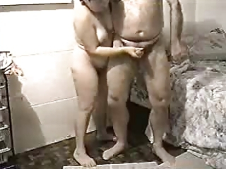my old wife jerking my cock. dilettante older