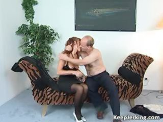 lustful redhead mother i sucks fat cock