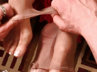 mature footjob film 3