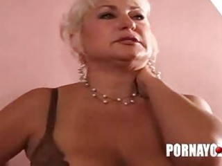 old overweight milf gives oral-sex and fucks for