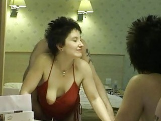 short haired brunette d like to fuck receives