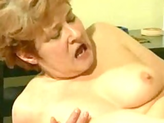 overweight granny