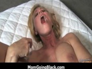 interracial milf porn monster darksome penis in
