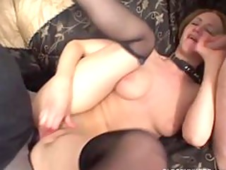 kinky mother i in anal three-some