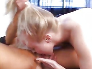 aged woman seduces coed
