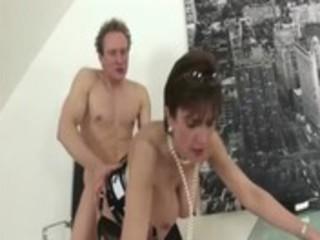 older stocking fetish bitch hard fucking