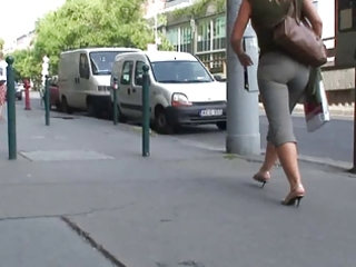 awesome matures booty walking