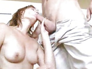 mature lady acquires pounded hard by young guy