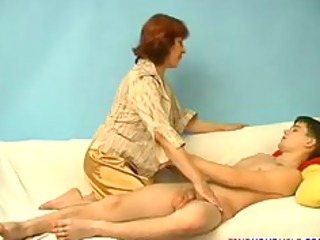 Mature mom and son 001