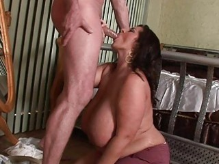 lusty mega breasted d like to fuck honey blows a