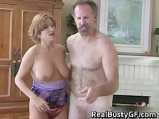 Fine ass hot mom licking fat cock part6