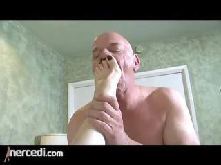 latin mature wife has her feet screwed big tits,