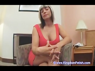 Milf masturbation instruction chastity slave pov