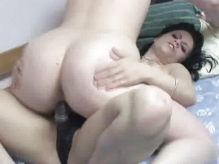 blond veronica fucking a milf with her ding-dong