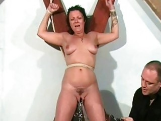 shaz fastened and electro torment of mature