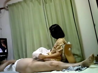 sex life of japanese elderly pair having pleasure