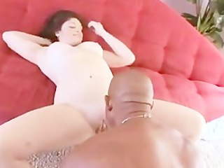 chubby girl harley vally humps with black guy