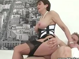 cheating wife receives sexy forbidden sex in hose
