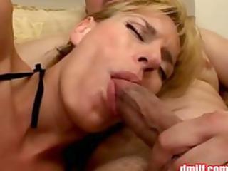 slutty mother i in fishnet hose gets gangbanged
