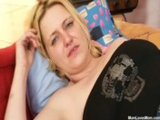 big titties non-professional mother i plays with