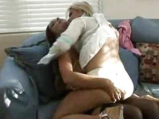 older woman seduces juvenile girl...f27