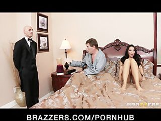 Cheating asian wife has a wet dream about her