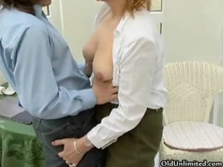 sexy older housewive gets lewd engulfing part5