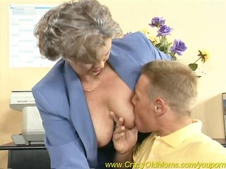 busty mamma acquires fucked in the office