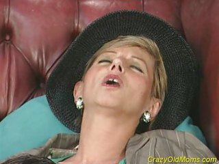 avid old mom receives drilled hard and does oral