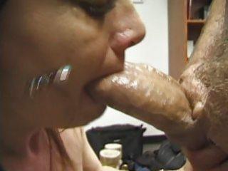 milf blow job