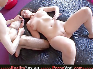 hot french mature with a youthful boy!