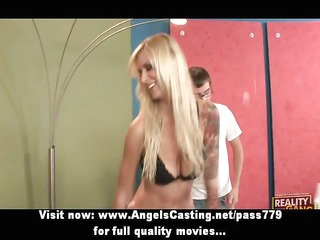 hawt blond fucking and doing oral stimulation for
