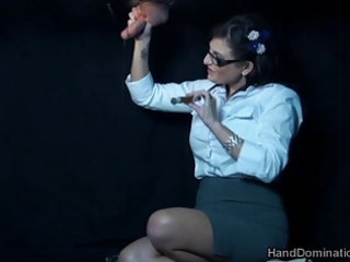 smokin gloryhole tugjob by dominant d like to fuck