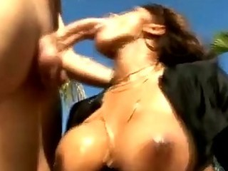 dark mother i sucking dick rod at the pool