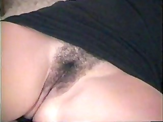 sexy non-professional girl shows pussy---home