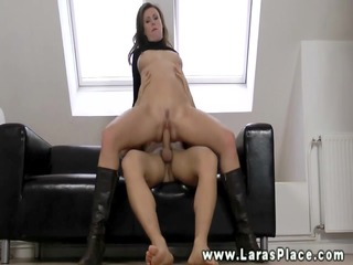 mature sweetheart sucking and fucking for this