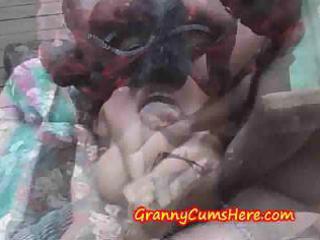 grannies go wild and eat cum at public swingers