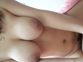 wife super large tits fuck at home