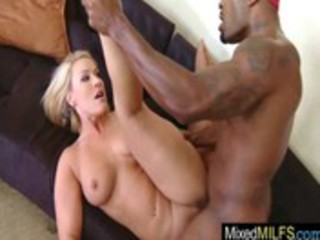 milf like big darksome hard knob in each hole