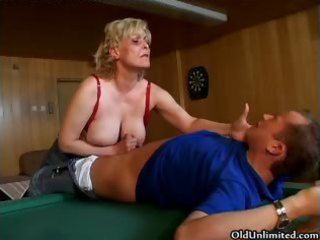 naughty sexually excited old mama with big part0